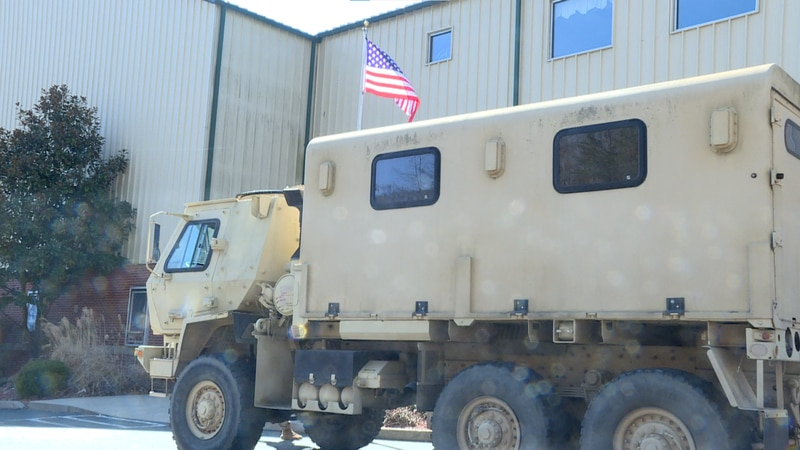 Kentucky National Guard assists with delivering supplies to those impacted by flood damages.